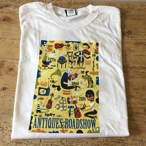 RARE Antiques Roadshow 2004 Tour T-shirt NWOT